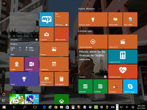 Windows 10 - tablette